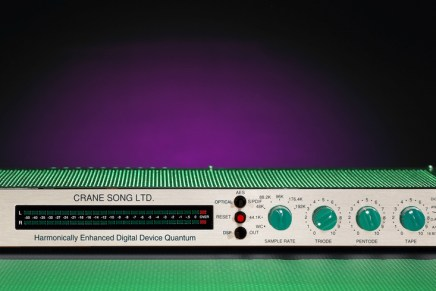 Crane Song announces the AES debut of its HEDD Quantum