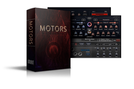 Umlaut Audio announces the release of MOTORS Loop Based Rhythmic Instrument for KONTAKT