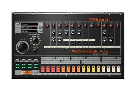 Roland Virtual Sonics announces the release of Roland's TR-808 in software