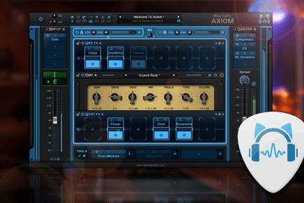 Blue Cat Audio Releases Axiom software and new Axe pack bundle for guitar and bass