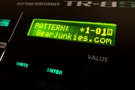 Roland TR-8S Rhythm Performer – Gearjunkies review
