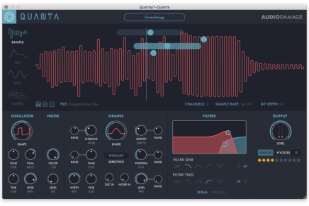 New Audio Damage Quanta Granular Software Synthesizer