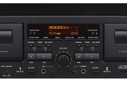Tascam unveils 202mkVII dual cassette deck with USB