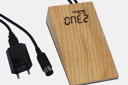Polytec announces a MIDI clock tap tempo pedal ONE.2