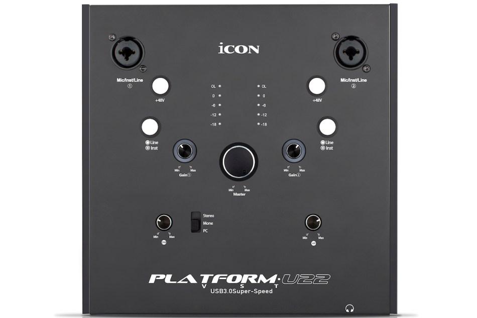 iCON Pro Audio announces Platform U22 VST audio interface