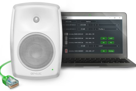 Genelec Launches Smart IP Audio Platform