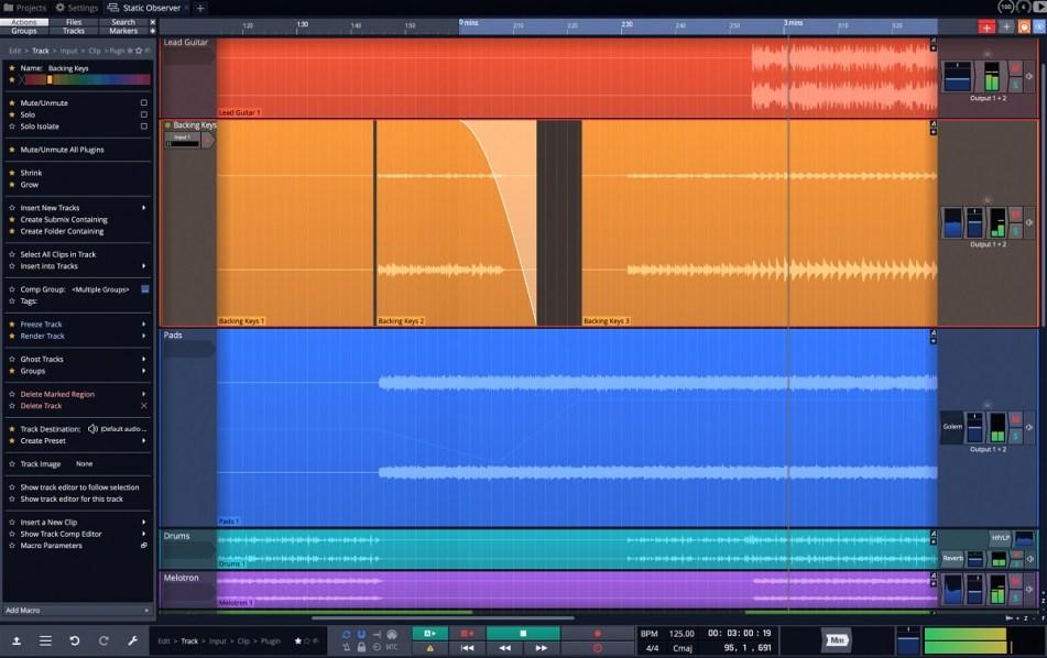 Tracktion annoubces Waveform 10 digital audio workstation