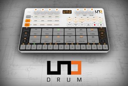 IK Multimedia announces hybrid drum machine called UNO Drum