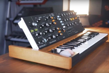 Behringer introduces the POLY D paraphonic analog synthesizer