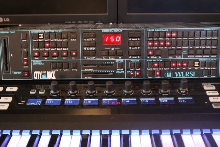 Gearjunkies video – Wersi City Rack KF2 organ synthesizer expender first look and sound demo