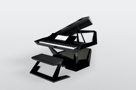Roland GPX-F1 Facet Grand Piano Debuts at CES 2020
