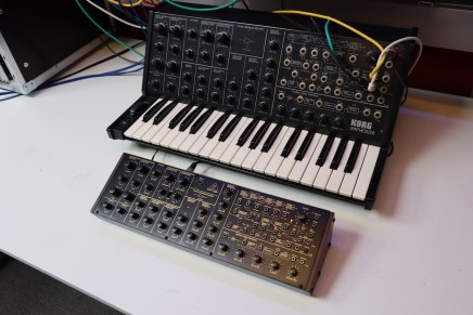 Gearjunkies video – Behringer K2 and Korg MS 20 comparison and jam session