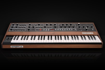 Sequential reintroduces the Prophet 5