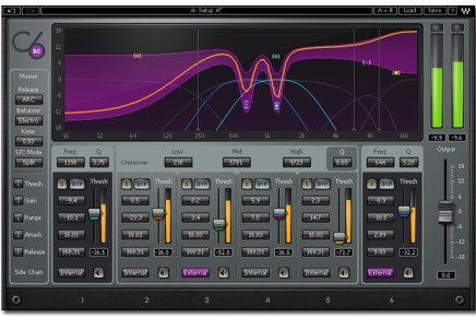 Multiband Compression with the Waves C6