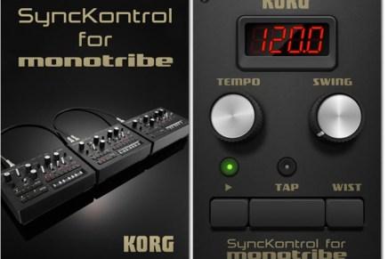 KORG SyncKontrol App for monotribe