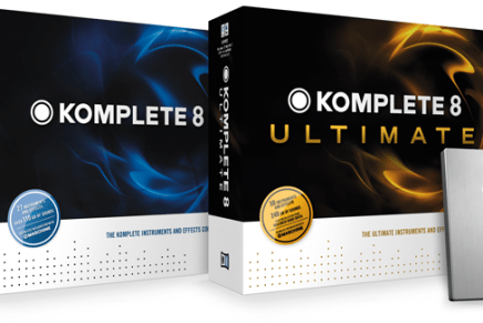 Native Instruments Announces KOMPLETE 8 and KOMPLETE 8 ULTIMATE