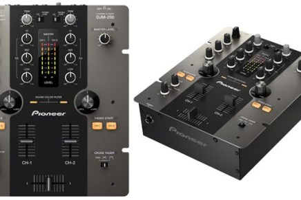 Pioneer DJM-250 DJ MIxer Introduced