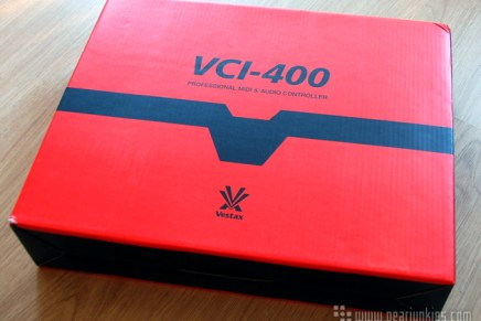 Vestax VCI-400 DJ Controller Arrived at Gearjunkies HQ