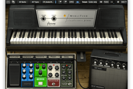 Arturia releases Wurlitzer V emulation of the EP 200A