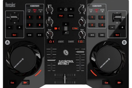 Hercules introduces DJControl Instinct for DJ Beginners