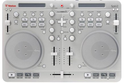 Introducing Vestax Spin2 DJAY Controller