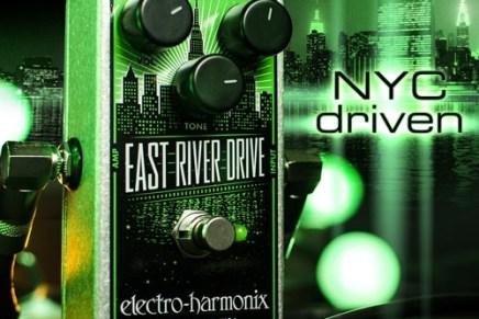 Electro-Harmonix East River Drive pedal – Demo Video