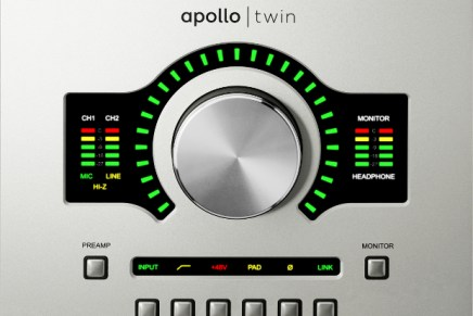 Universal Audio announces the Apollo Twin High Interface