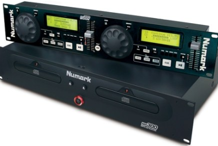Numark announces MP300, dual MP3 CD player