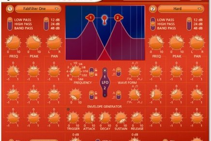 Fabfilter releases Volcano – new filter plugin