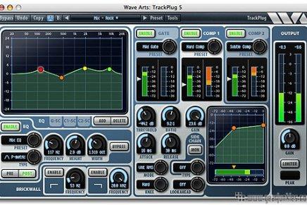 WaveArts announces Trackplug 5