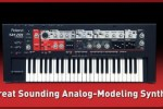 Roland released audio unit version of the SH-201 Editor