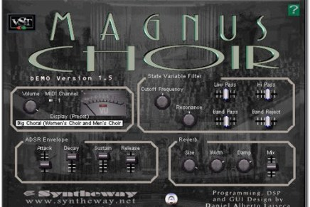 Syntheway updates Magnus Choir to version 1.5.