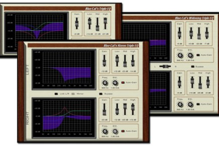 Blue Cat releases Triple EQ Series 2.0