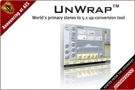 TC Electronic announces UnWrap – stereo to 5.1 conversion
