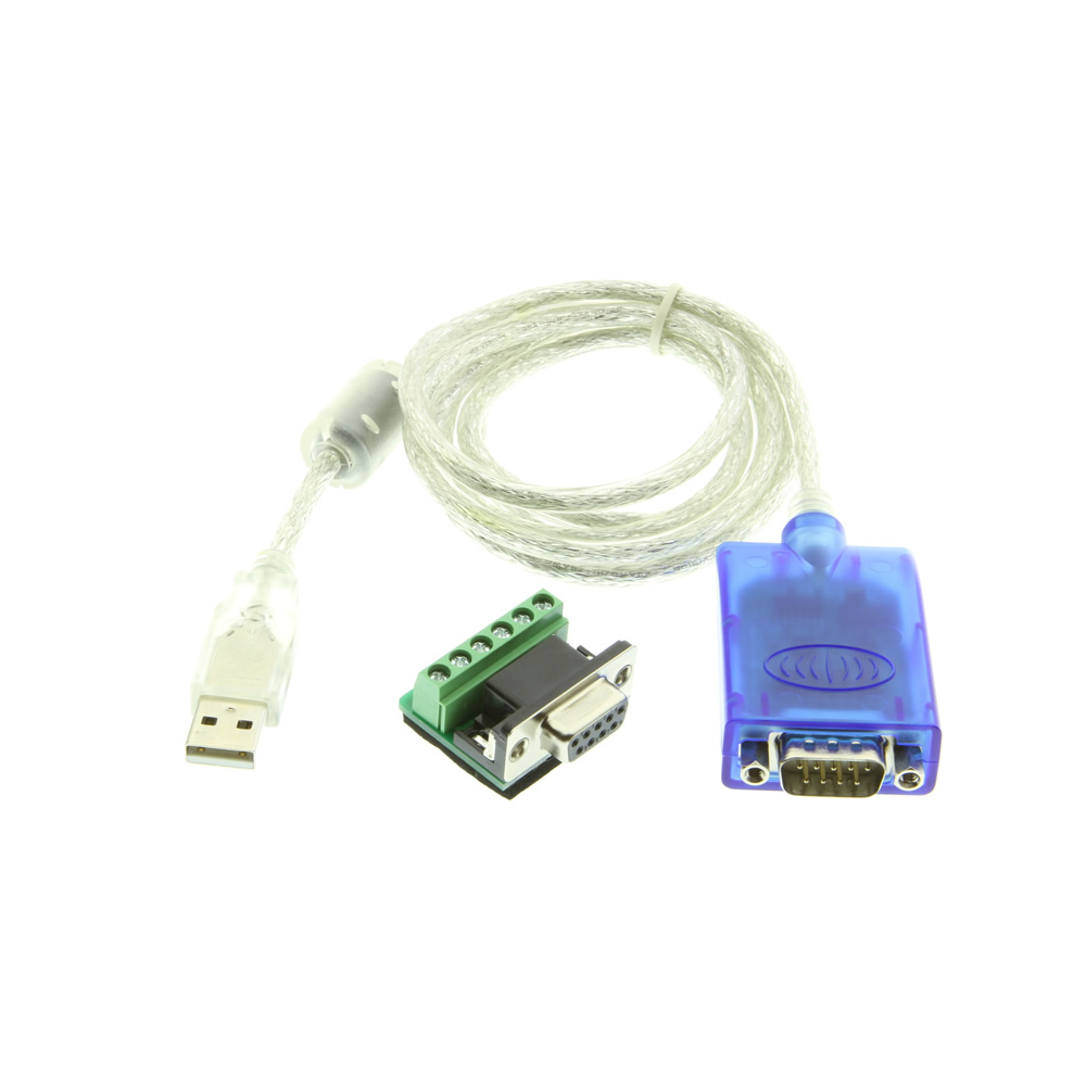 medium resolution of usb to serial adapter with terminal converter