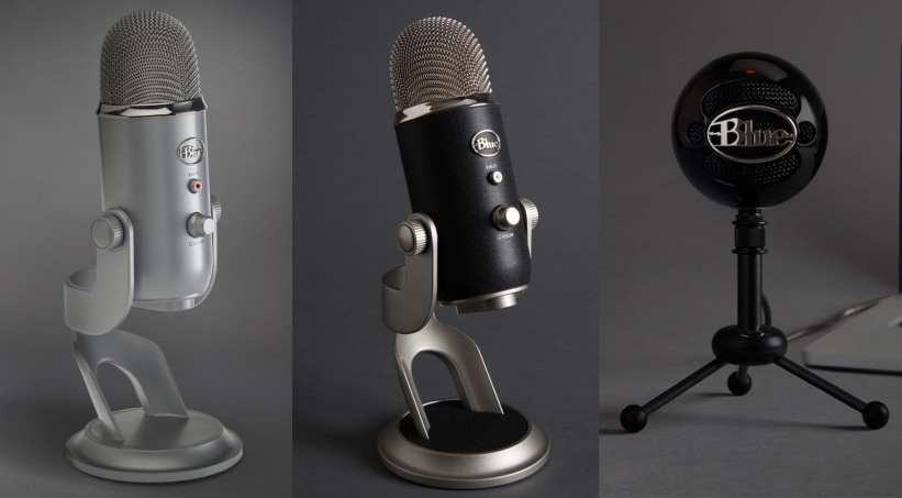 Blue Microphones: Yeti, Yeti Pro and Snowball Studio Series USB Mics