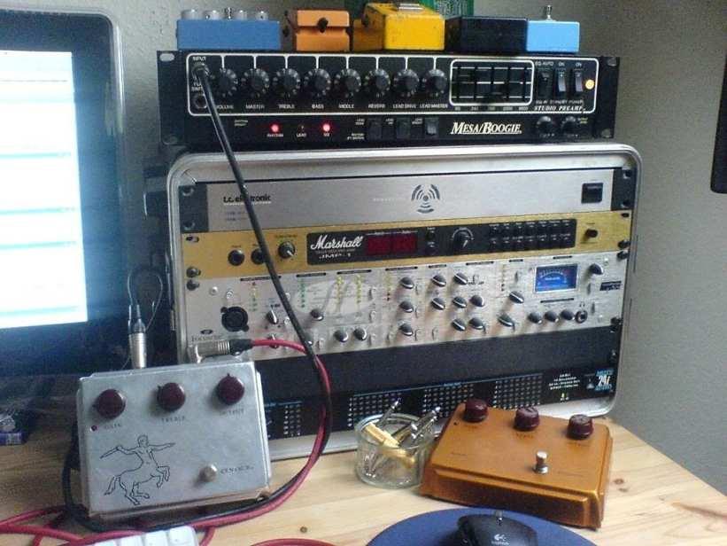 Jef's Klon pedals
