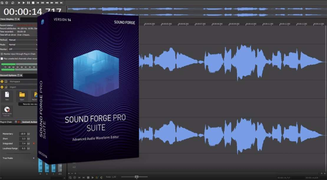 MAGIX SOUND FORGE Audio Studio 14.0.0.111 Crack