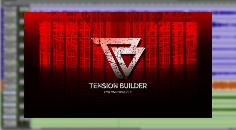 Indefinable Audio Tension Builder for Omnisphere 2 plug-in cover