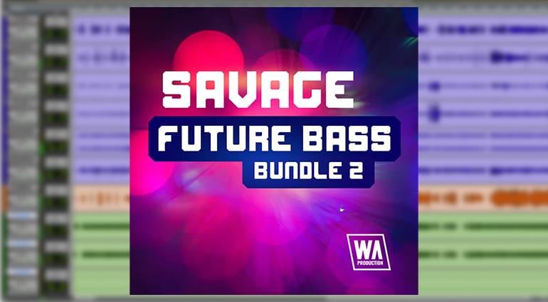 w.a. production savage future bass bundle 2 plug-in cover