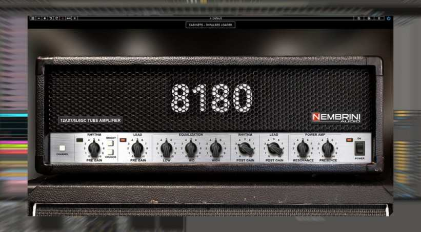 8180 Monster Tube Guitar Amplifier Plug-in