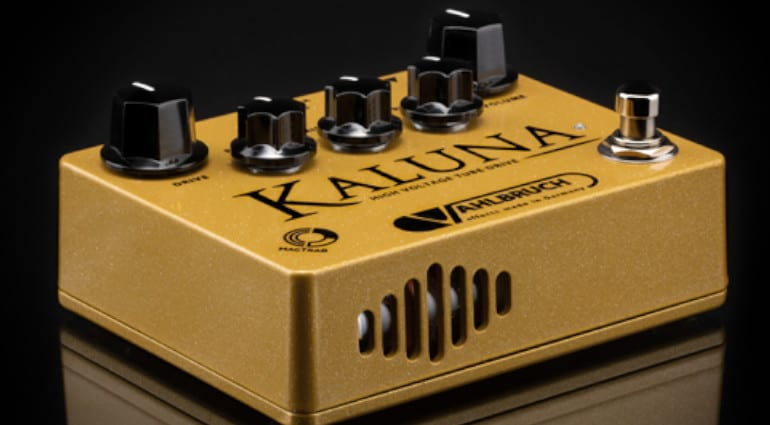 Vahlbruch Kaluna tube overdrive with 12AX7 tube