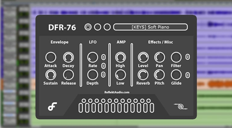 reflekt audio gfr-76 sample pack GUI