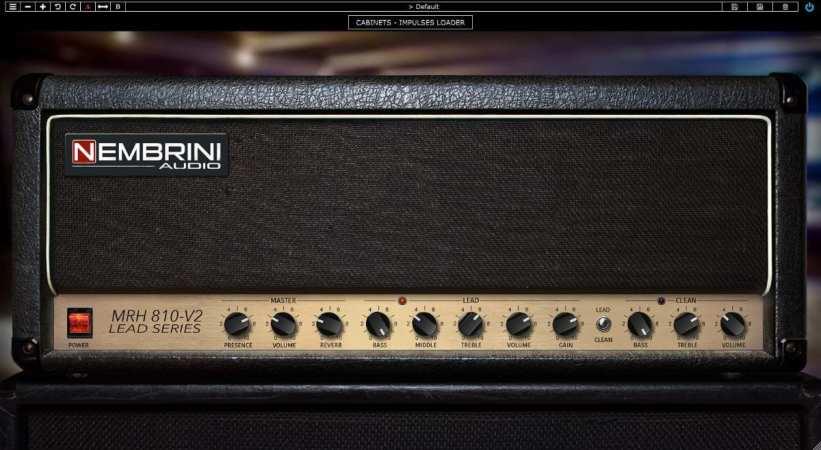 Nembrini Audio Legendary British 800 Guitar Amplifier