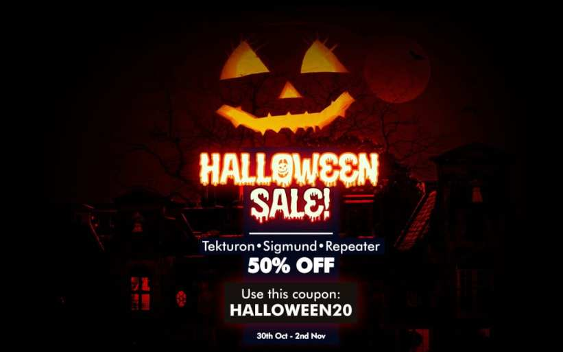 D16 Plugins Halloween sale