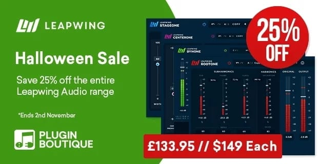 Leapwing Audio Halloween sale