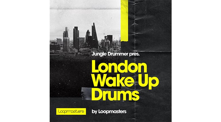 jungle drummer london wake up drums sample pack cover art