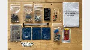 North Coast Synthesis Leapfrog VCF DIY kit