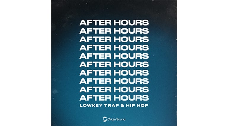 origin sound after hours sample pack artwork