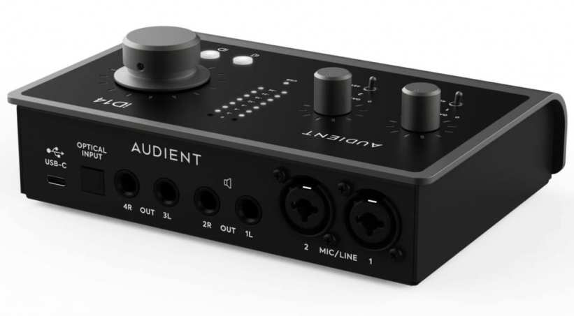 Audient iD 14 MKII rear side